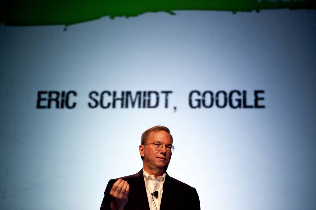 Corporate Culture Example Google Eric Schmidt