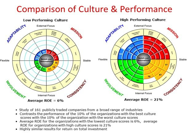 cultural assessment - comparison-of-culture-and-performance