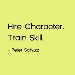 Hire Character Cultural Fit Assessment