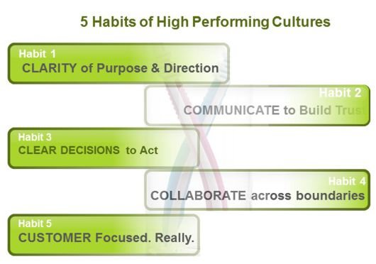 These habits propel an organization forward