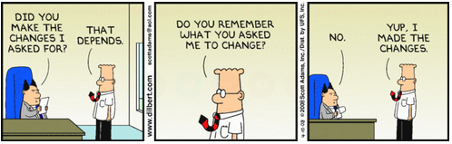 Corporate Culture Change Comic