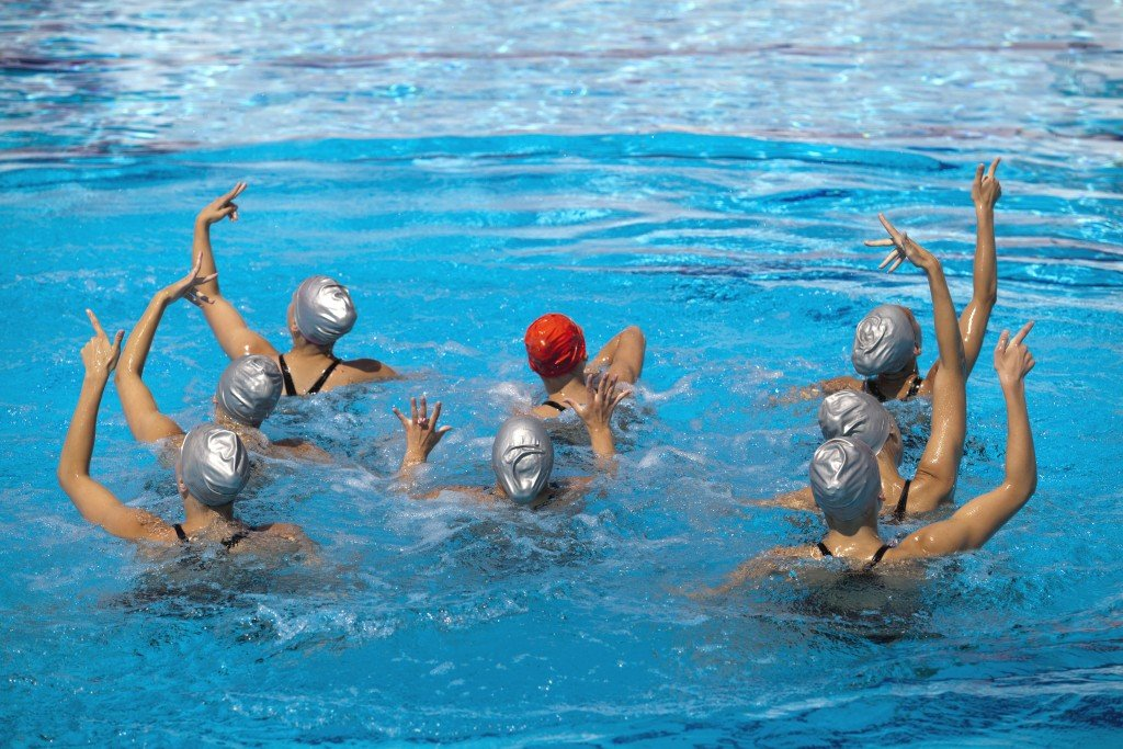 Synchronized Swimmers Team Building