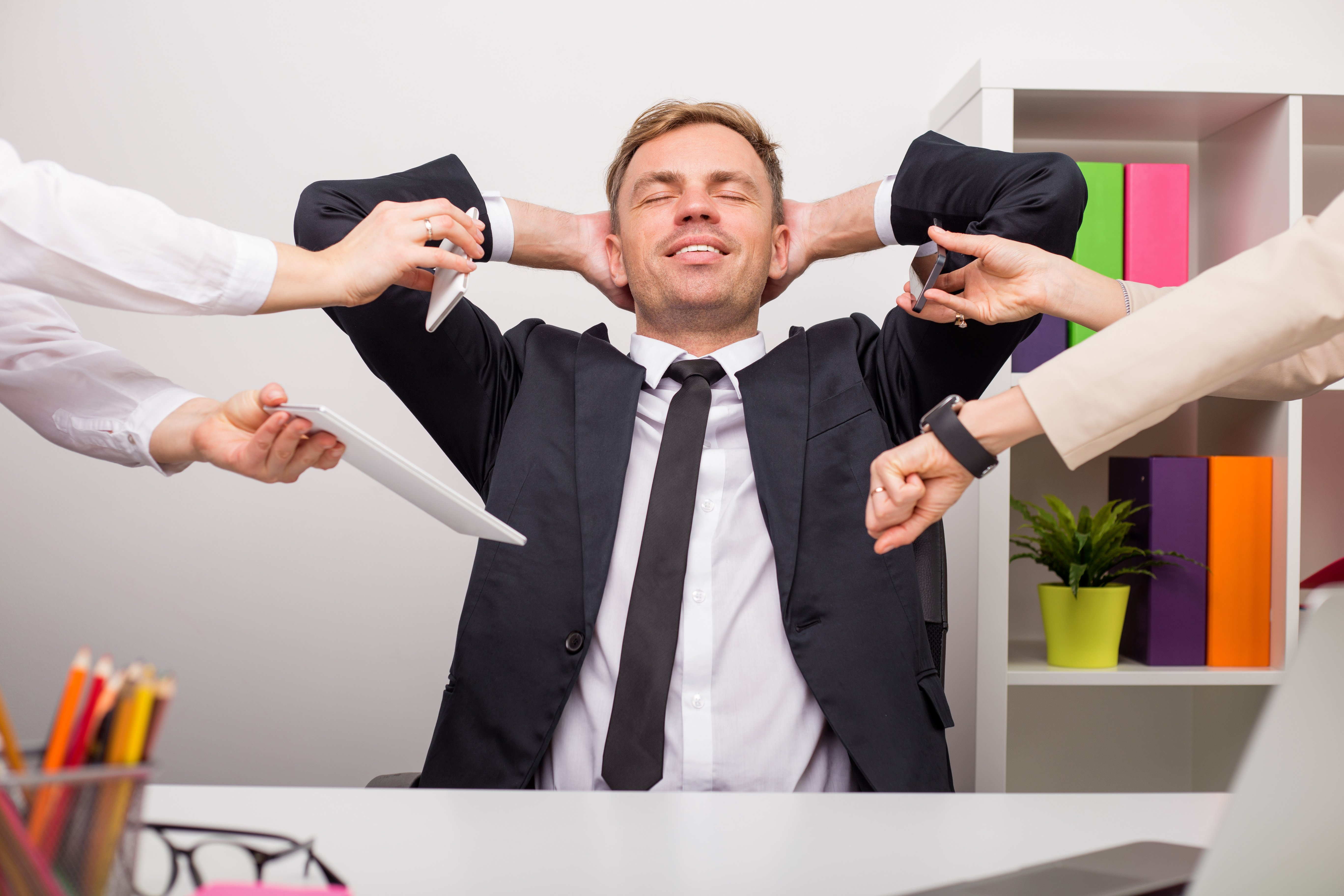 Less Stress at Work