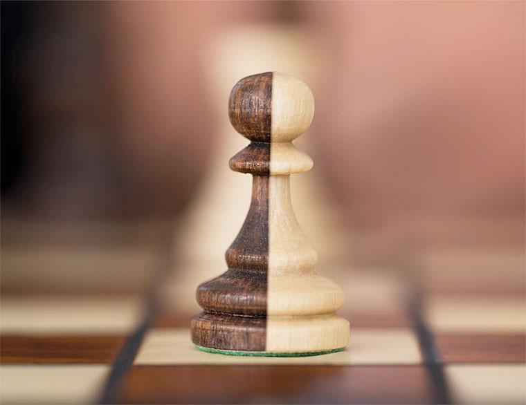 My Game Change by Lisa Jackson. Image of a chess piece.