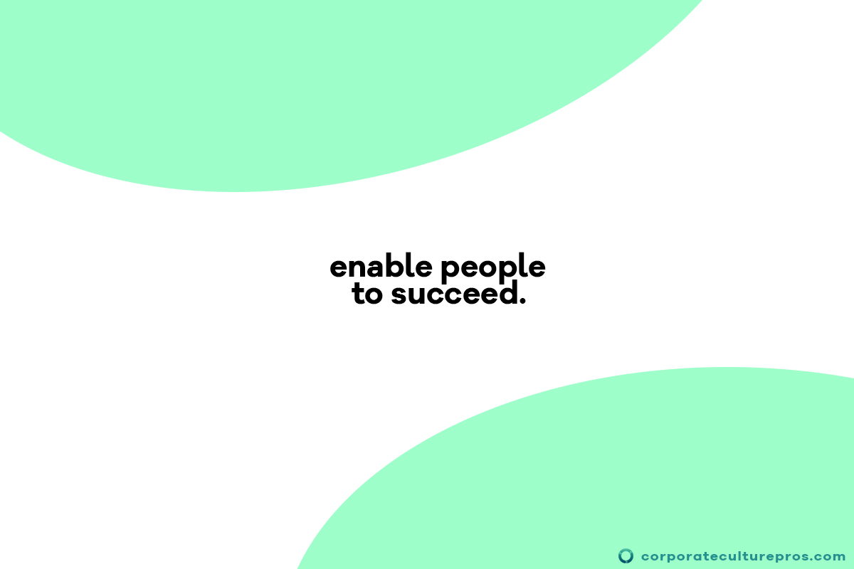 Employee Engagement Enables People To Succeed