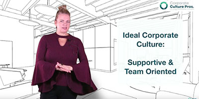 Corporate Culture Pros video screenshot about how to attract and retain talented employees